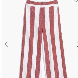 Huston Pull-On Crop Pants in Stripe